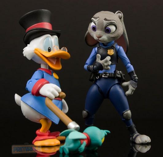 Kaiyodo Figure Complex Movie Revo Zootopia Judy Hopps Review