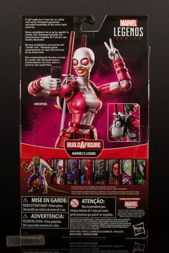 Marvel Legends Spider-Man Lizard Series Gwenpool Review