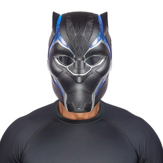 MARVEL LEGENDS SERIES BLACK PANTHER HELMET (2)