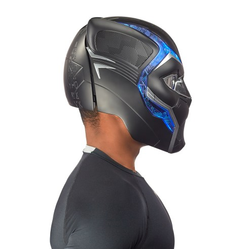 MARVEL LEGENDS SERIES BLACK PANTHER HELMET (4)