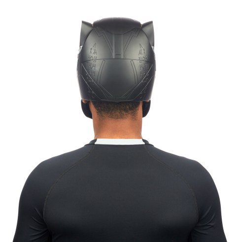 MARVEL LEGENDS SERIES BLACK PANTHER HELMET (5)