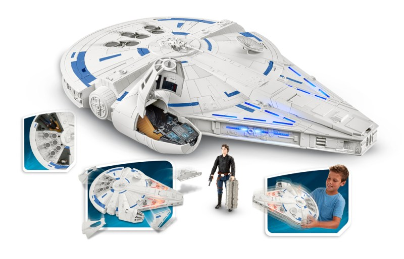 SOLO A STAR WARS STORY 3.75-INCH KESSEL RUN MILLENNIUM FALCON VEHICLE