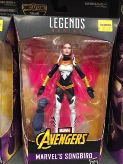 Hasbro Marvel Legends Infinty War Thanos BAF Song Bird