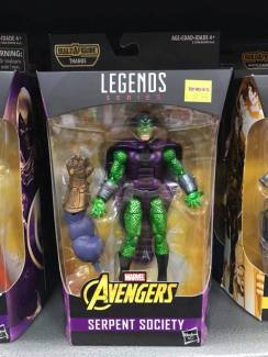 Hasbro Marvel Legends Infinty War Thanos BAF King Cobra