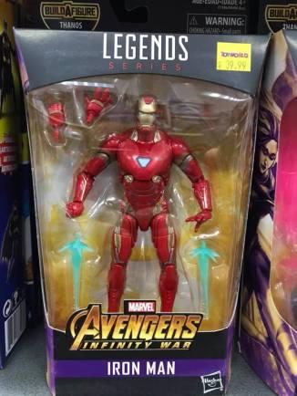 Hasbro Marvel Legends Infinty War Thanos BAF Iron Man MCU