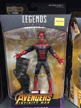 Hasbro Marvel Legends Infinty War Thanos BAF Spider-Man MCU