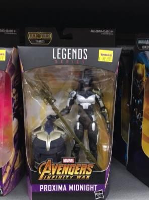 Hasbro Marvel Legends Infinty War Thanos BAF Proxima Midnight MCU