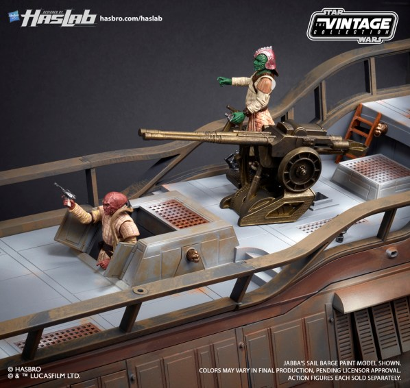 Hasbro: HASLAB Jabba's Sail Barge Now Includes New Incentive