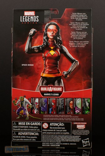Spider-Woman - Spider-Man: Lizard Build-A-Figure Wave January 2018