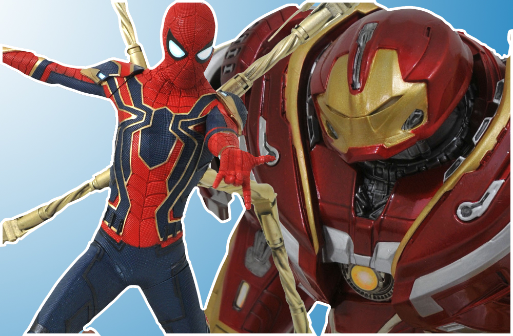 DST: Avengers Infinity War Begins with Diamond Select Toys!