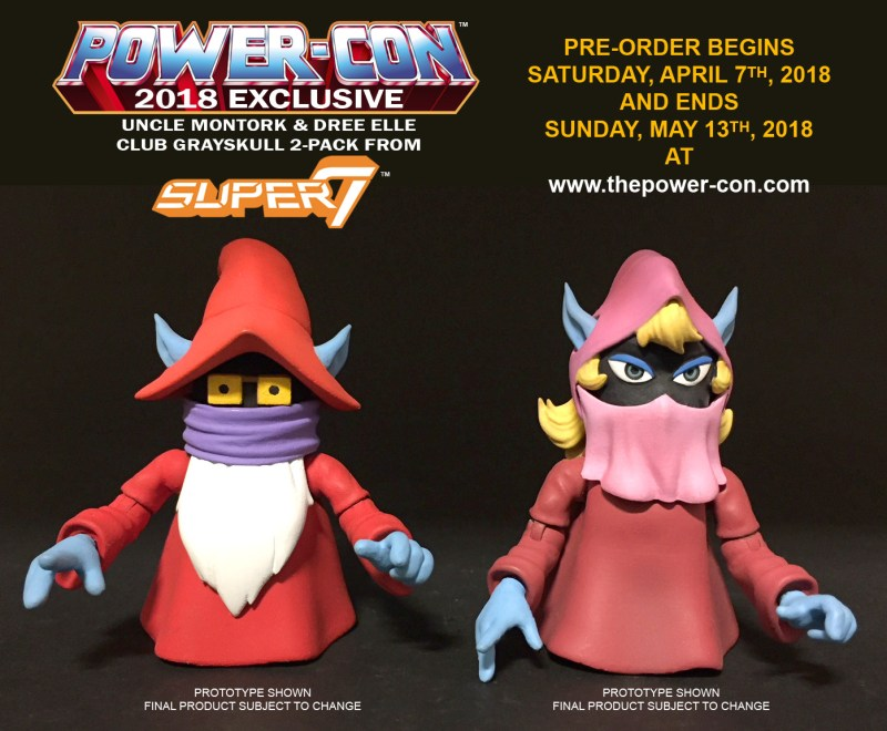 Super7: Power Con Exclusive MOTUC Filmation Uncle Montork and Dree Elle Revealed