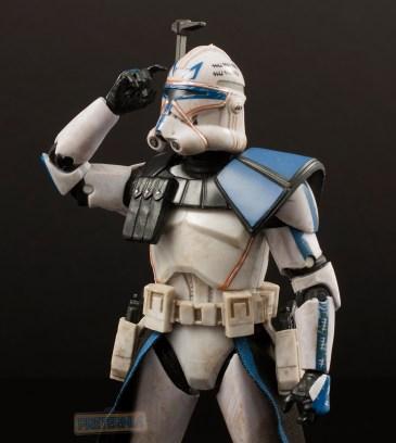 Hasbro Star Wars Black Six-Inch #59 Clone Captain Rex Review