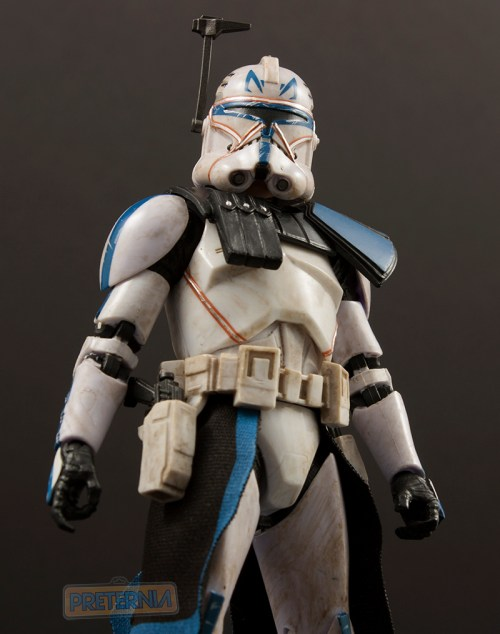 Hasbro Star Wars Black Six-Inch #59 Clone Captain Rex Review