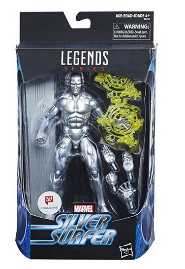 Hasbro: Marvel Legends Walgreens Exclusive Thing and Silver Surfer Official Pictures