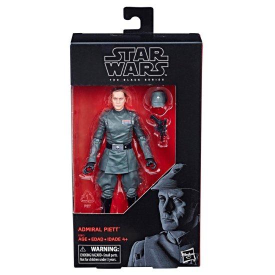 Hasbro: Star Wars Black Series Admiral Piett Reveal and Preorder