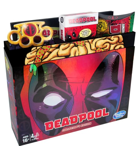 MONOPOLY GAME MARVEL DEADPOOL COLLECTOR'S EDITION - pkg (2)