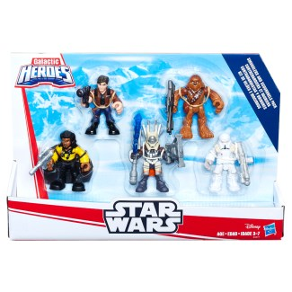 PLAYSKOOL HEROES STAR WARS GALACTIC HEROES SOLO A STAR WARS STORY SMUGGLERS AND SCOUNDRELS PACK (in pkg)