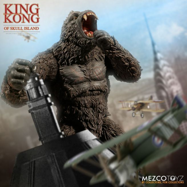 Mezco: King Kong of Skull Island Available for Preorder