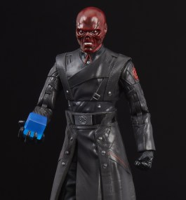 MARVEL LEGENDS SERIES RED SKULL & ELECTRONIC TESSERACT - oop1