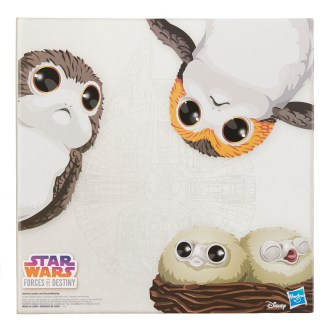 STAR WARS FORCES OF DESTINY CHEWBACCA AND PORGS - in pkg2