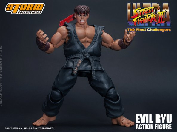Storm Collectibles: 'Ultra Street Fighter II: The Final Challengers' Evil Ryu Revealed