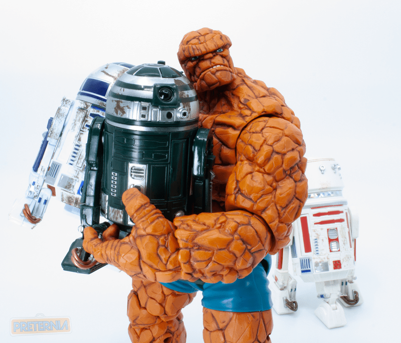 Quick Review: Star Wars Black 6-Inch R2-D2, R5-D8, and R2-X2 Red Squadron Box Set