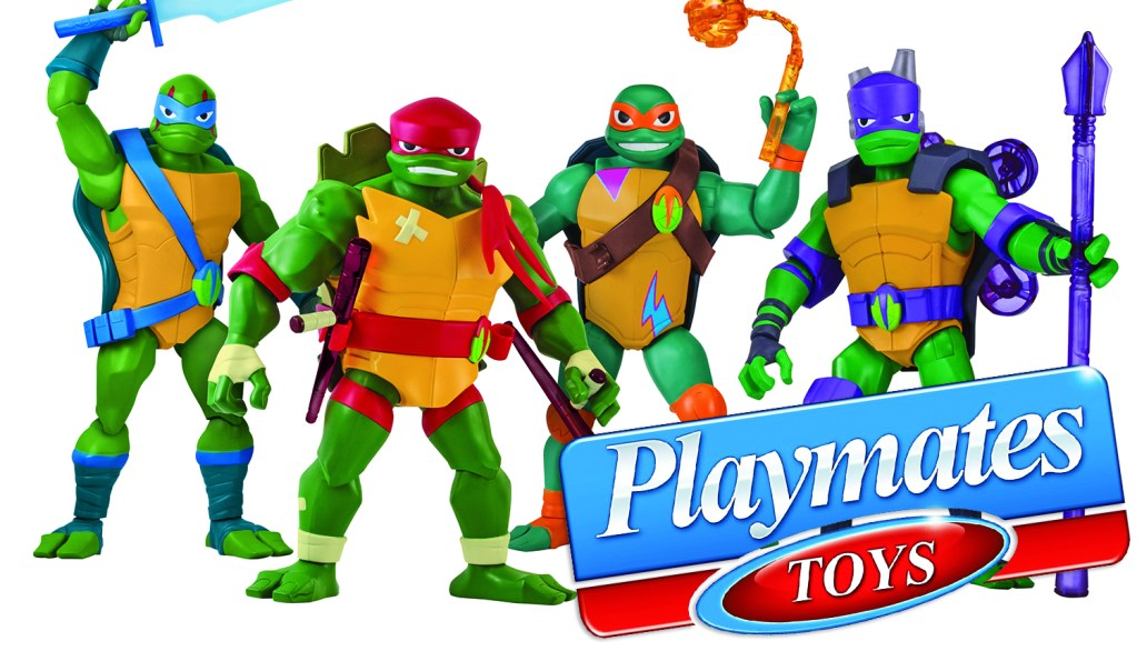 Playmates: All-New Teenage Mutant Ninja Turtles Toys Rise To Retail Stores