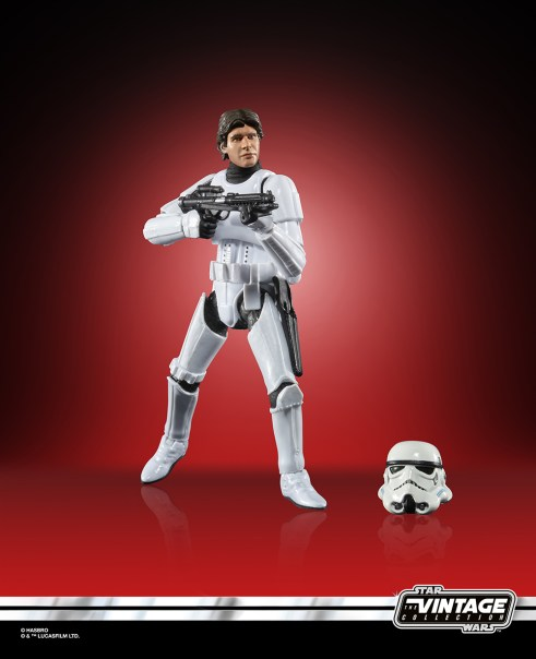 Star Wars The Vintage Collection Han Solo (Trooper Disguise) Figure 1 Target Exclusive