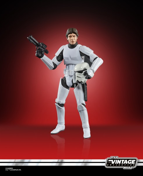 Star Wars The Vintage Collection Han Solo (Trooper Disguise) Figure 2 Target Exclusive