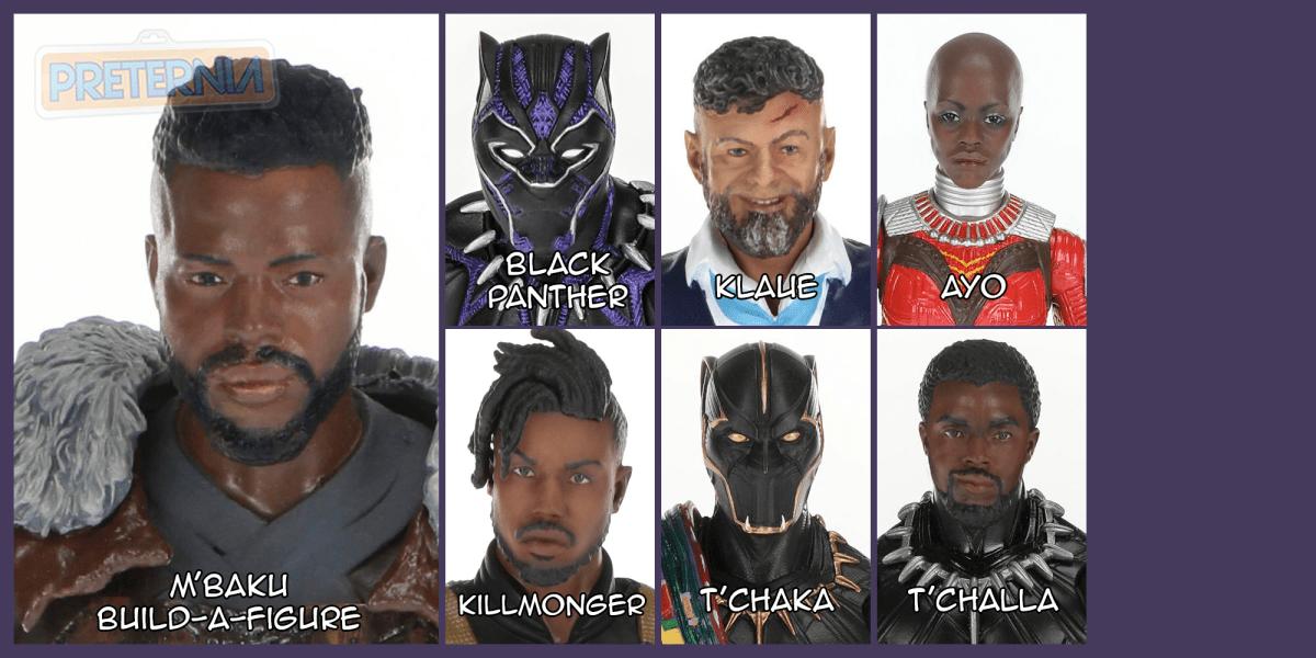 Marvel Legends Black Panther M'Baku Build-A-Figure Wave
