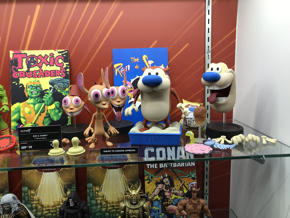 Toy Fair 2019 Super7 Toxie, TMNT, Voltron, Conan