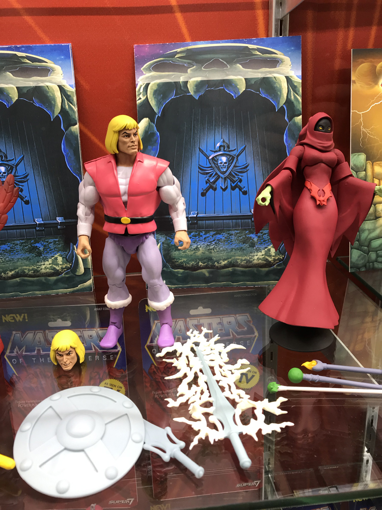 Toy Fair 2019 Super7 Masters of the Universe Classics Club Grayskull Wave 4 Filmation