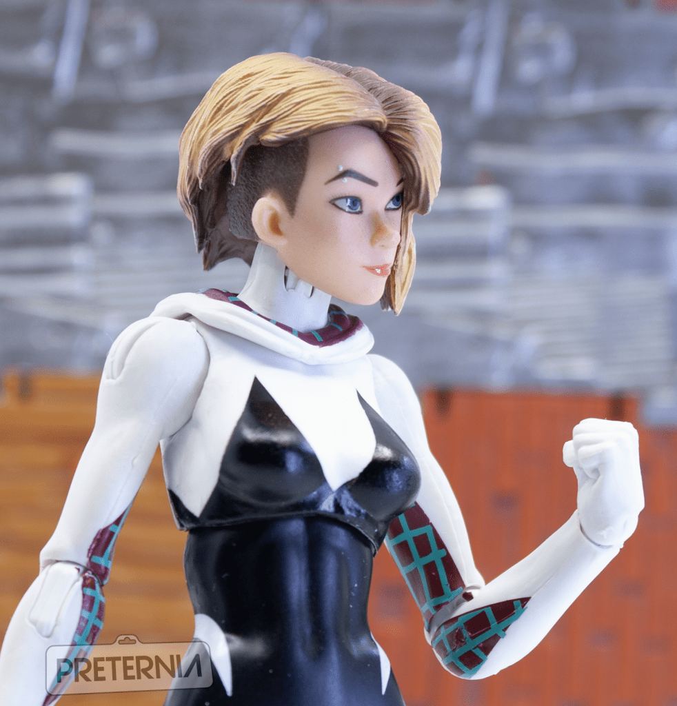 Quick Look #3: Nota Studio Spider-Gwen Head for Hasbro Marvel Legends or Revoltech