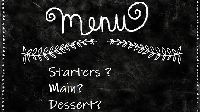 build your own menu