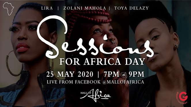 sessions for africa day online concert