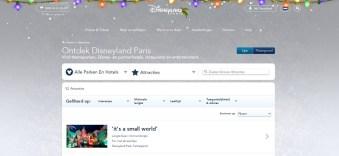 Disneyland Parijs attracties