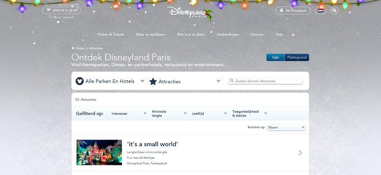 Pretpark Disneyland Parijs