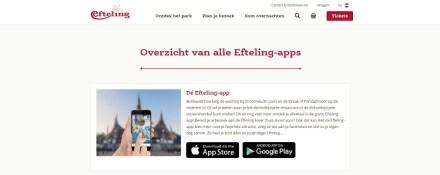 Efteling app
