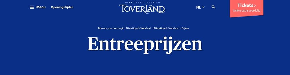 Entree Toverland