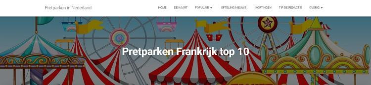 Pretparken Frankrijk top 10