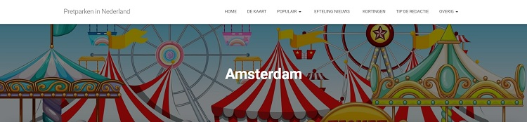 Pretparken en uitjes in Amsterdam