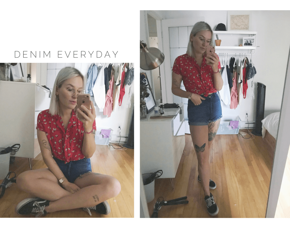 Most worn items this Summer | Denim Everyday