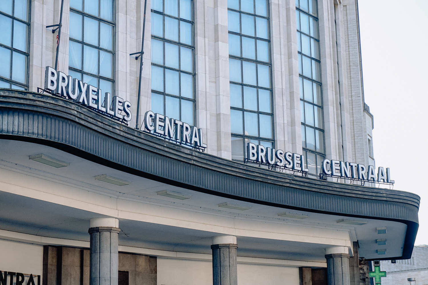 pretty naive | A Belgian Serie - Brussels Central Station