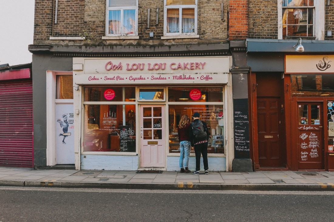 Sunday Stroll in London (Ooh Loulou Cakery)