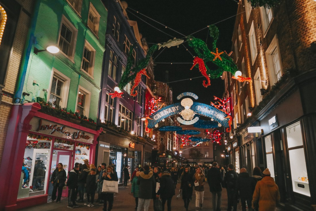 Christmas in London (Carnaby Street)