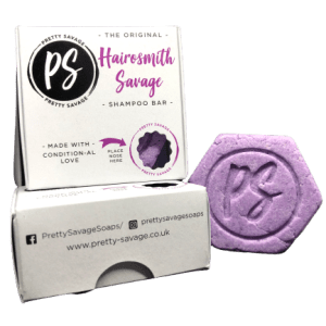 purple shampoo bar