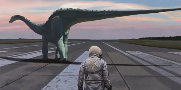 """Diplodocus"" by Scott Listfield"