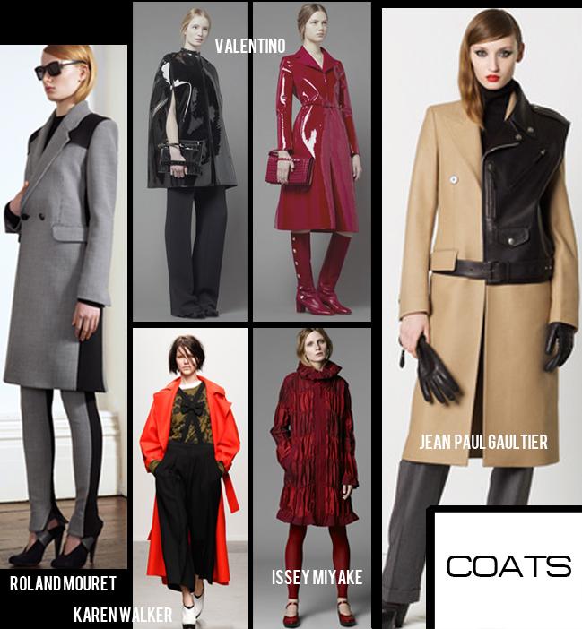 coats from NY fashion week 2013