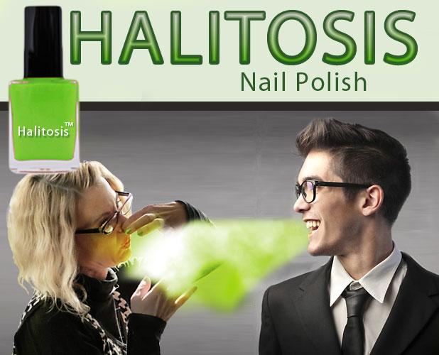Halitosis? This nail polish might change that