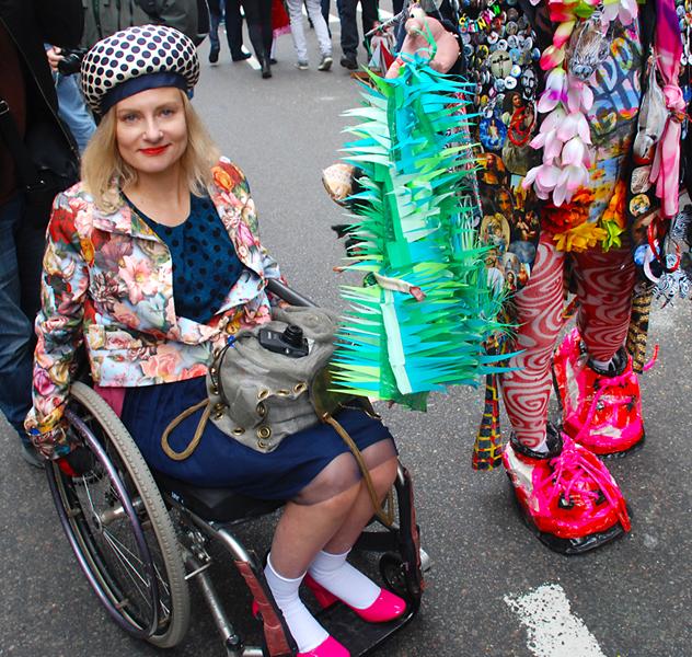 Magda Easter Hat Parade NYC